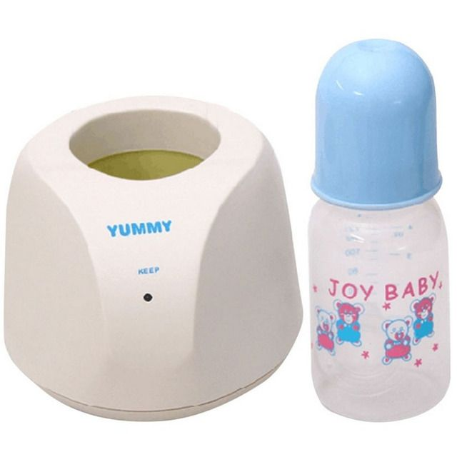 Hot Sale New 1 Warm Milk Heater+1 Milk Bottle New Household Warm Milk Heater for Infant Warmer Temperature for Newborn Baby