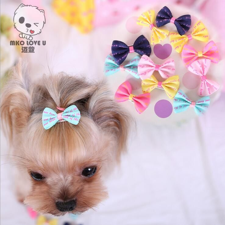 , 3.5cm Cute Pet  Dog Hair Clips,Classic Pet Cats And Dog BeeHairpin Headdress Pet Grooming Accessories