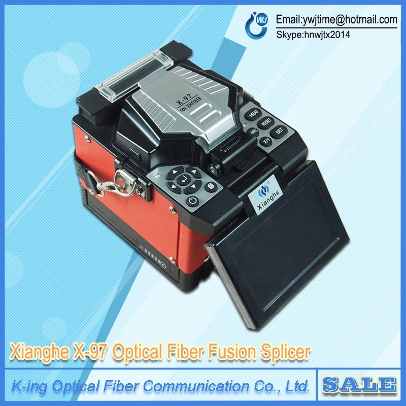 Smart X-97 FTTH Fusion Splicer Optical Fiber Fusion Splicer FTTx Fiber Optic Fusion Splicing Welding Machine Free Shipping