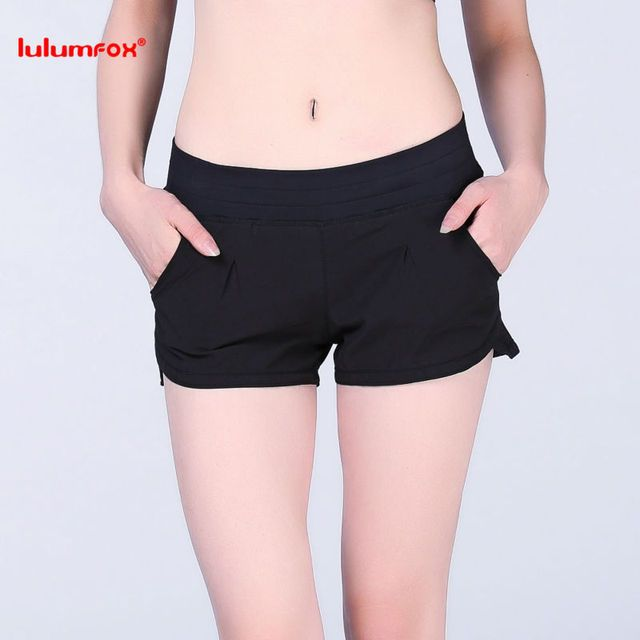 0123 Wholesale Customized Running Shorts Pants Spandex BLack Shorts Women Summer