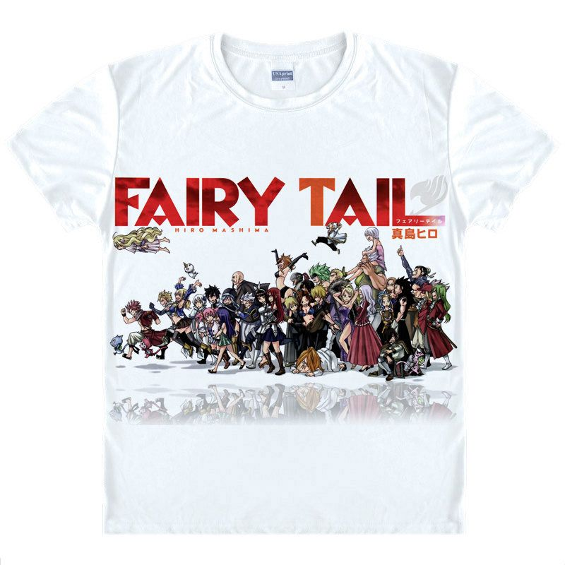 Fairy Tail T-Shirt flying cat Shirt Fast Drying T-shirts anime costume summer T-Shirts For Girls lolita anime cosplay Clothes a