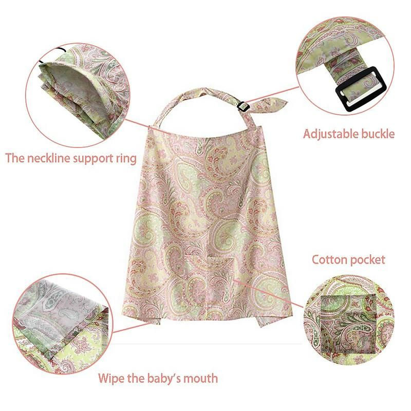 2016 Hot Sale Privacy Cotton Baby Nursing Cover Mum Mother Women Under Cover Infant Breastfeeding Nursing Blanket Shawl