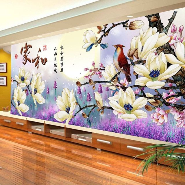 DIY Diamond Painting, 5D,Flowers, Diamond Embroidery, Diamond Mosaic, Diamond Cross Stitch Kit, Living Room Decoration