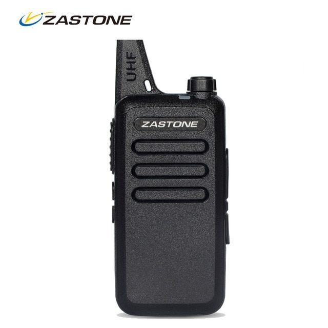 Zastone ZT-X6 Mini Walkie Talkie UHF 400-470Mhz Frequency Portable Walkie Talkies Two Way Radio UHF Handheld Ham Radios