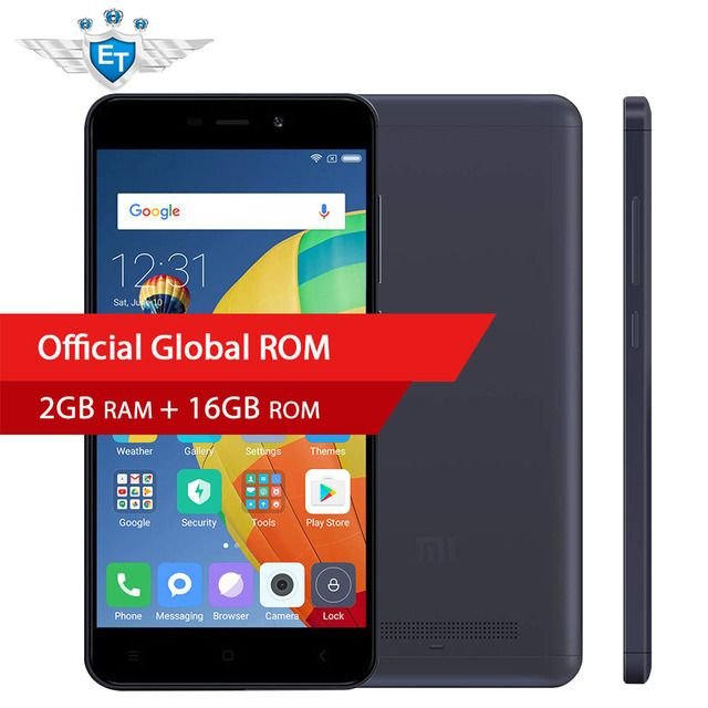 Global Version Xiaomi Redmi 4A 4 A 2GB 16GB Smartphone 5.0'' Snapdragon 425 Quad Core 13MP Camera MIUI 8.5 Android 6.0 FDD LTE
