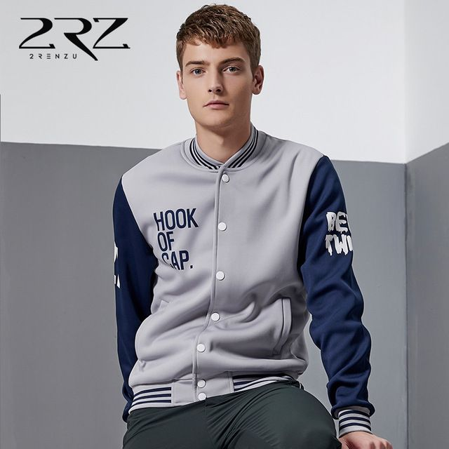 2016 Brand Clothing o-neck Jacket Men Sweatshirt College Jackets Casual Slim Fit Jacket Mens Clothing 5 Colors