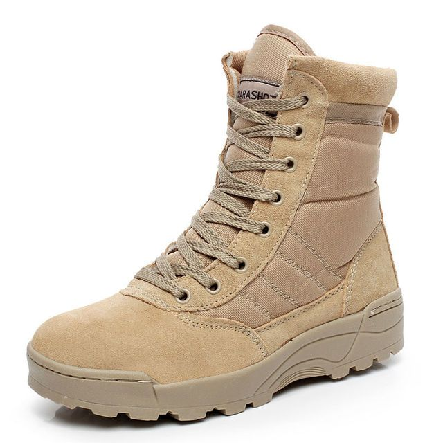 SWAT Military Tactical Desert Boots Men Fashion Army Combat Boots Summer Outdoor Hiking Climbing safety Shoes Plus Size 38-47