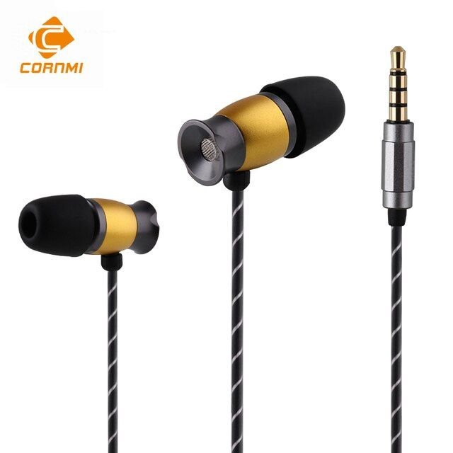 CORNMI Earphone Headset For iphone Xiaomi Mi 6 Samsung Huawei Andrews xiomi 3.5mm Wired Tuning Headset Auriculares Sport Headset