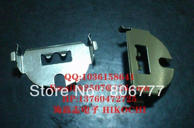 CR2032   battery holder metalic horizontal DIP BC2032167A