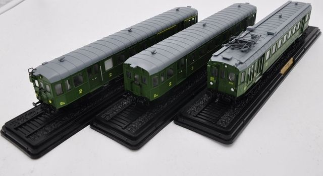 Atlas Train Model SUIT 3PCS ATLAS 1:87 RAILWAY TRAIN MODEL  Z-4100 ZRx-14110 ZR-24110