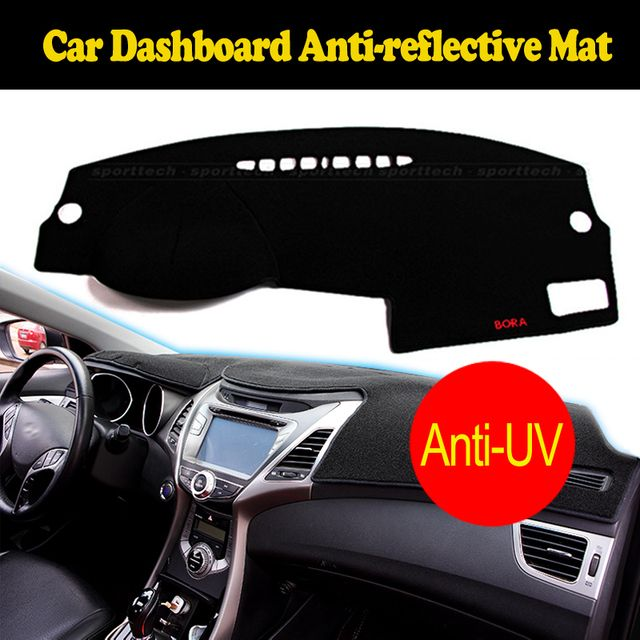 Car dashboard Covers For Mitsubishi LANCER EX ES 2010-2016 years Left steering wheel custom dashmat dash pad auto accessories