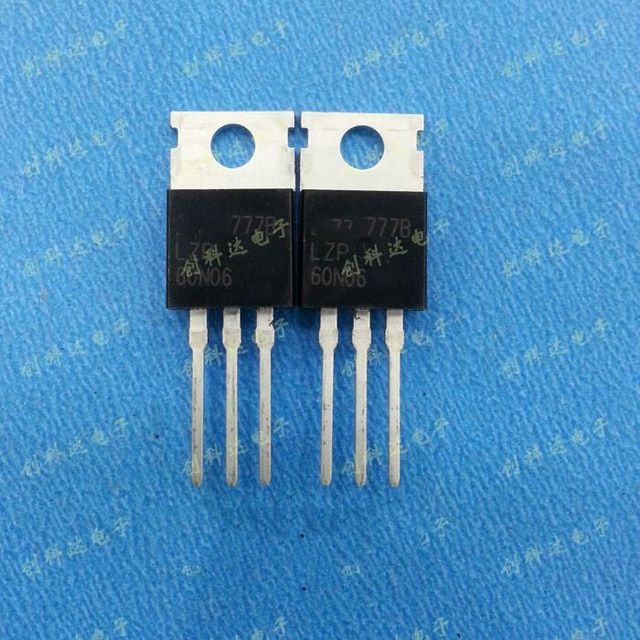 Free shipping 10pcs/lot 60N06 LZP60N06 60A60V TO-220 new original