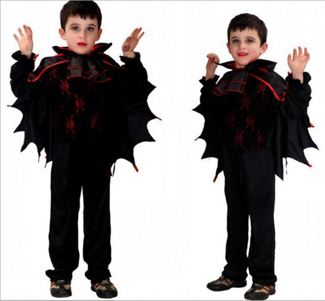 2017 free custom cosplay costume batwing coat Halloween party stage costumes children cosply cartoon costumes