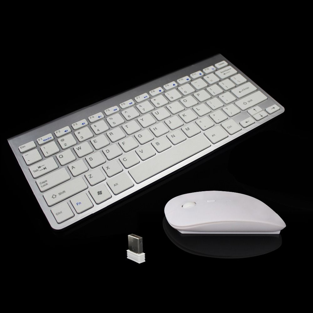 New Arrival Ultra-Slim 2.4G Wireless Keyboard and Mouse Combo With USB Receiver New Computer Accessories For Desktop Laptop PC