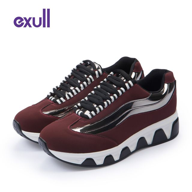 Exull Brand New Arrival Casual Shoes Fashion Woman Shoes Soft Breathable Platform Shoes Zapatillas Deportivas Mujer #16174828