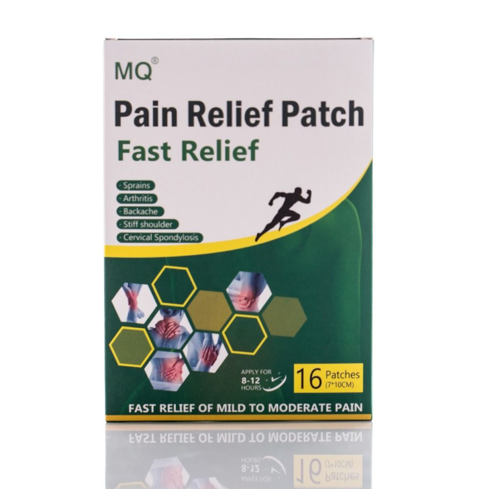 16 Pieces/Box Arthritis Back Pain Relief Patch Fast Relief Pain Chinese Traditional Herbal Medicine Body Health Care Product