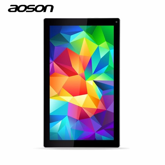 Android Tablet Pc 10.1 inch 1Gb 8Gb Quad Core Tablets Pc 1024*600 High Definition Lcd Dual Cameras Nice Aoson M1016C-W Tab Pc