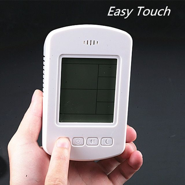 Free shipping Personal Home Use Air Quality Detector Monitor PM2.5 PM10 Gas Meter Formaldehyde Tester Smoke Sensor Detector RH