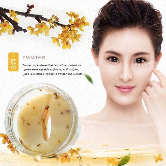 Osmanthus Dark Circle Fever Eye Mask Patch Ageless Anti Puffiness Anti Wrinkle Aging Skin Care Whitening Remove Black Finelines