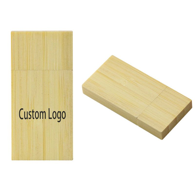 Customer LOGO Wooden bamboo USB flash drive pen driver wood chips pendrive 4GB 8GB 16GB 32GB memory stick U disk wedding Gift