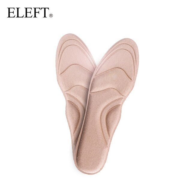 ELEFT 4D Arch Support High Heel pad Soft Foam insoles  inserts  orthotics orthopedic for Women Walking shoe shoes accessories