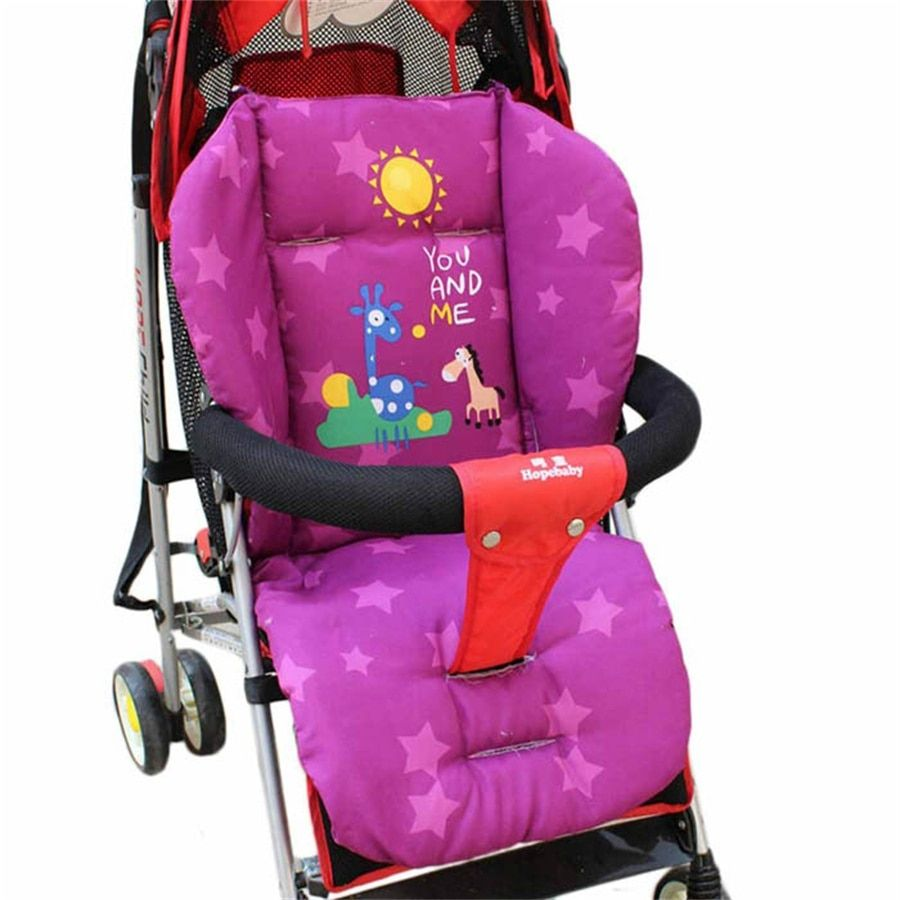 Hot Sale Baby New Giraffe Starfish Stroller Cushion Child Cart Seat Cushion Cotton Thick Mat Baby Stroller