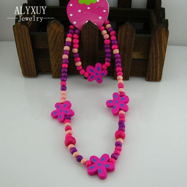 Young handmade cute jewelry ! Lovely jewelry set chilren/kid/baby/ necklace set bracelet Fashion jewelry N CS25