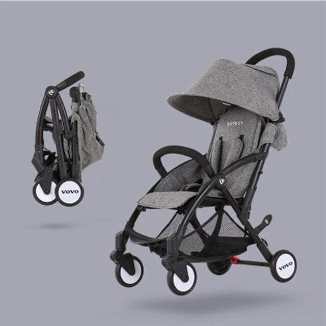Luxury baby stroller Can take a flat folding portable ultra-lightweight shock absorbers bb trolley china cheap baby baby throne