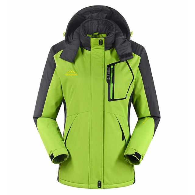 Free Shipping Top Quality Winter Women Skiing Jackets Snowboarding Colorful Warm Waterproof Windproof Breathable Ski Jacket Coat