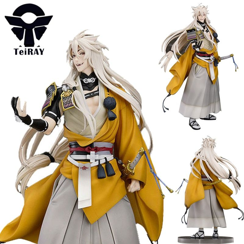 Game Touken Ranbu Online Kogitsunemaru Fox Ball Figma Japanese anime Pvc Action Figure Toy Juguetes Kids toys Birthday Gift 9.4""