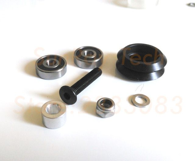dual V wheel Kit for VSlot rail OX CNC POM delrin 50 sets Free shipping
