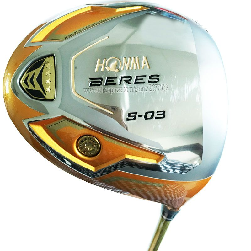 New Golf clubs HONMA S-03 4 Star Golf driver 9.5 or 10.5 loft Graphite Golf shaft R or S flex Clubs driver Cooyute Free shipping