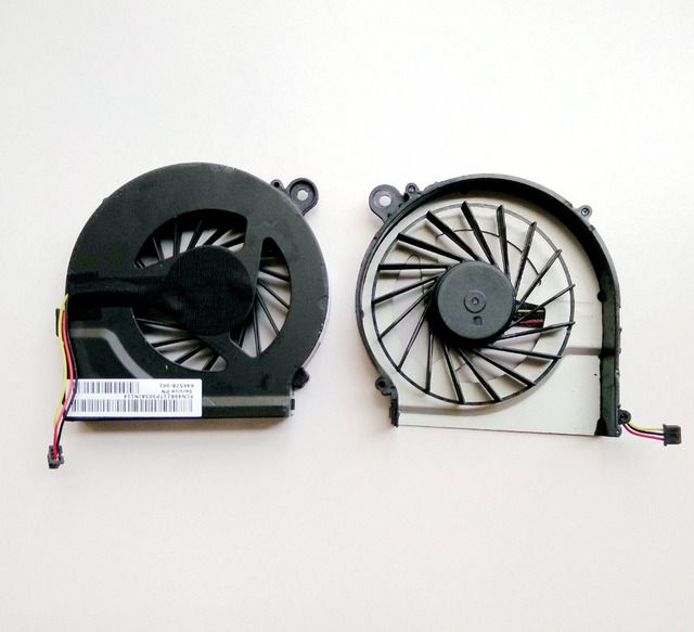 SSEA Brand New Original fan for HP CQ42 G4 CQ56 G42 CQ62 G62 laptop fan 055417R1S CPU cooling Fan Free shipping