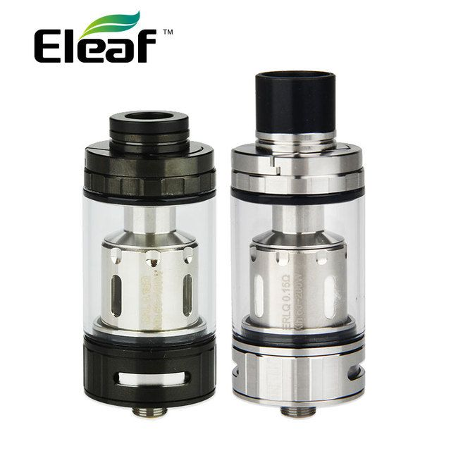 Original Eleaf Melo RT 25 Atomizer 4.5ml Melo RT Tank Top Filling 25mm Diameter w/ New ERL Coil 510 Thread Electronic Cigarette