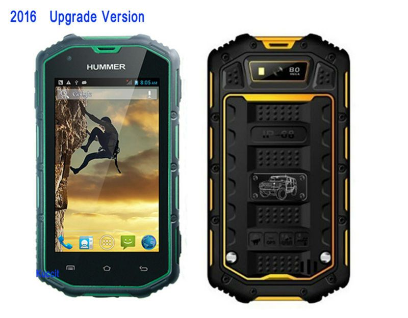 IP67 Waterproof phone Shockproof Dustproof Rugged Android 5.1 Smartphone MTK6582 Quad Core 1GB RAM Mobile Phone GPS