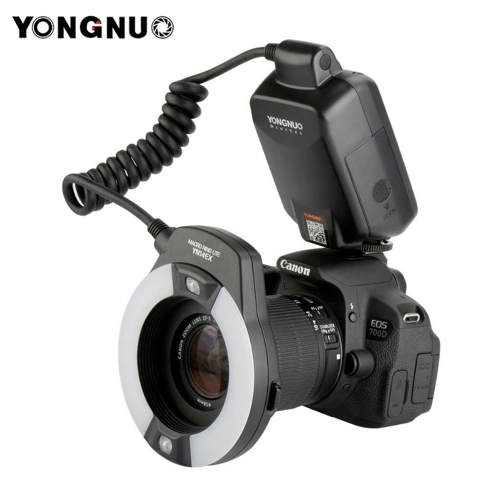 Yongnuo YN-14EX YN14ex  TTL Macro Ring Lite Flash Speedlite Light for Canon 5Ds 5Dsr 760D 5D Mark III 7D 60D 70D 700D 650D 600D