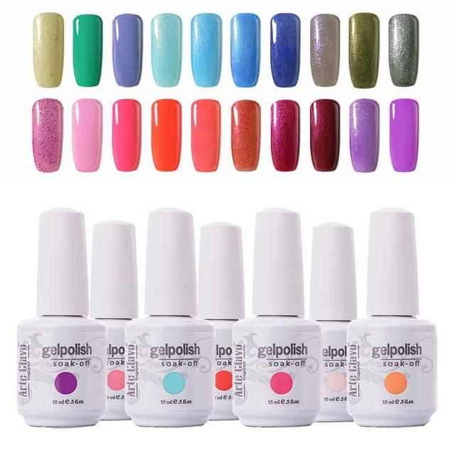 Long-lasting 15ml Arte Clavo 1 Piece  Cosmetic Gel Polish UV Gel Nails Led Nail Lamp Nail Salon Soak Off Gel Nails Art