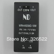 dcdc isolated power module 48V turn negative 5V10W input 36-72VDC-DC step-down module WRA4805MD-10W