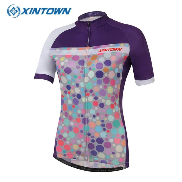 Cheap clothes china  Bike Cycling Jersey Fietskleding Wielrennen Zomer Dames Quick Dry Women Short Sleeve Maillot Ciclismo Ropa