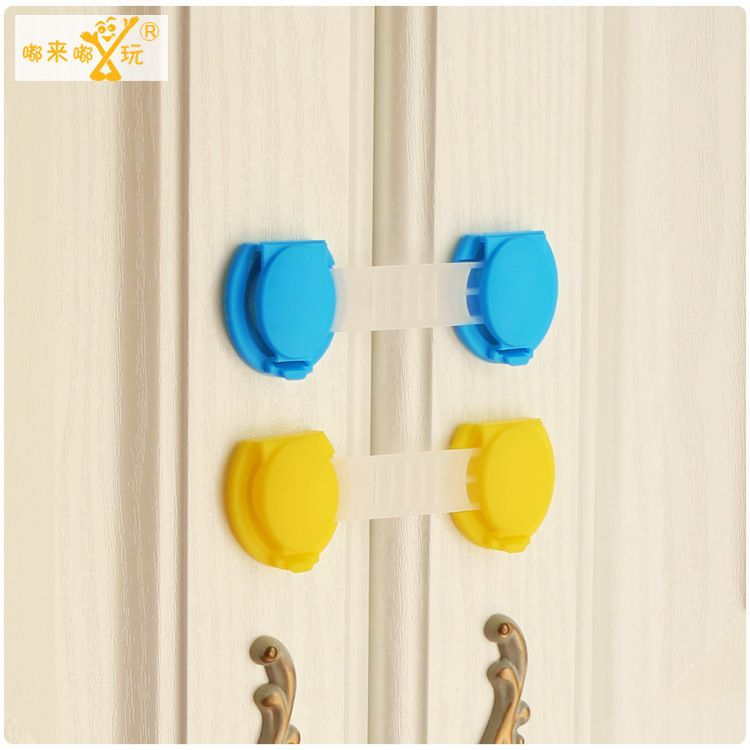 10 pieces/lot Child safety cabinet locks cupboard cabinet lock dollhouses watch Baby furniture baby safety Ladies Watch TAQS11