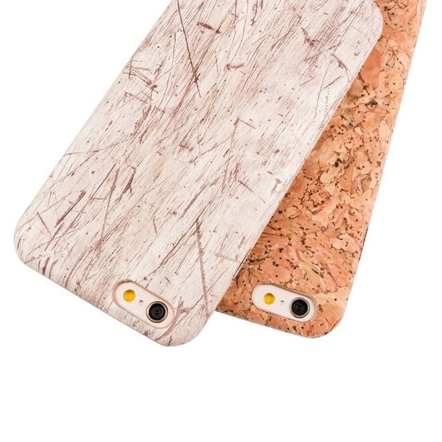 New Wood Grain Design Soft TPU Fiber Crack Pattern Back Shell Cover for iPhone 6 6S Thin Mobile Phone Cases for iPhone 6Plus