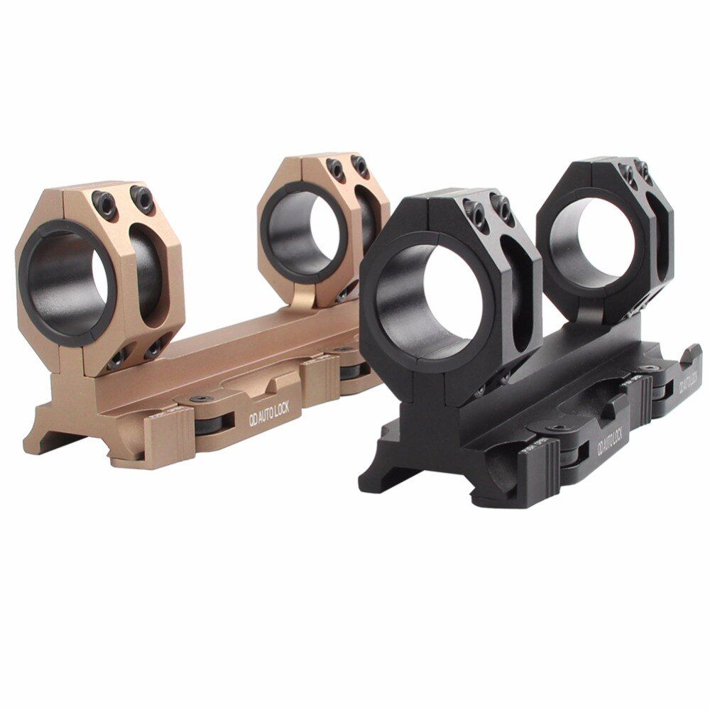 AD Scope Mount 25.4mm / 30mm Dual Ring Heavy Duty Range Mount 20mm Rail Quick Detachable QD Rifle Scope Mount 2-0039
