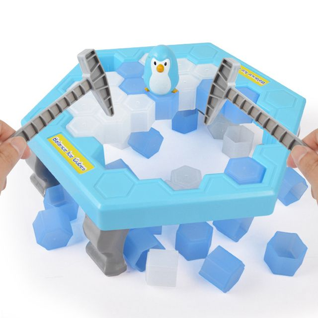 2017 Penguin Trap Activate Funny Game Interactive Ice Breaking Table Penguin Trap Entertainment Toy for Kids Family Fun Game