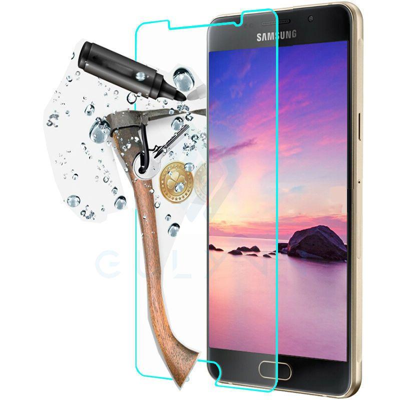 Tempered Glass For Samsung Galaxy A3 A5 A6 A8 Plus J2 J3 J4 J5 6 Prime 2017 2018 HD Transparent Screen Protector Protective Film