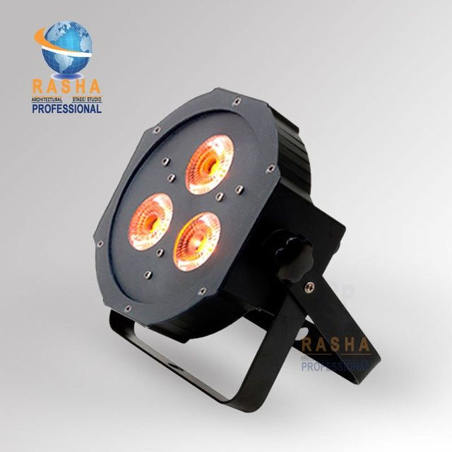 HOT 3pcs*18W  Ultra Bright 6in1 RGBAW +UV LED Par38 Wash Light,LED Par Light,Quad Mega Par Profile Stage Lighting