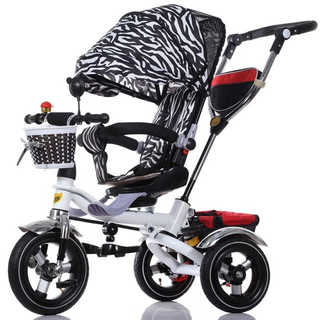 2017 Child stroller wheel tricycle child bicycle baby stroller