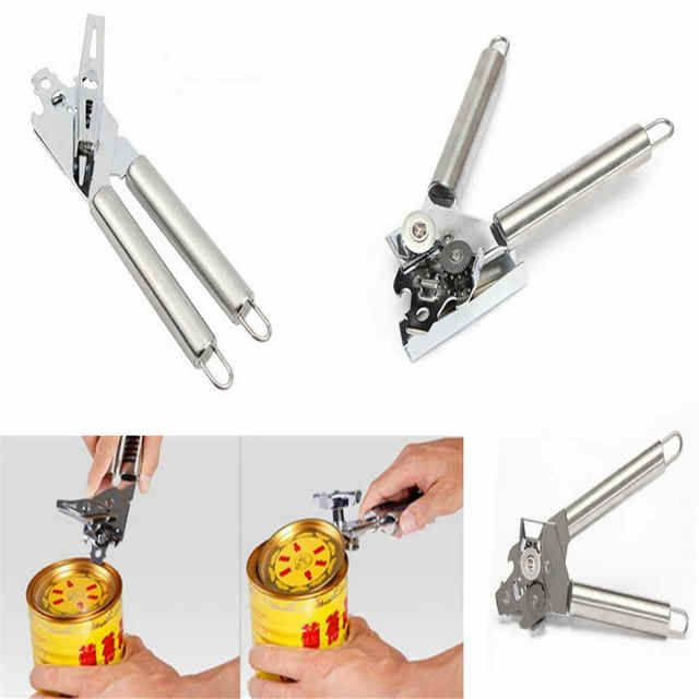 StStainless steel can opener tin-opener Multi-function device for opening cans Kitchen utensils