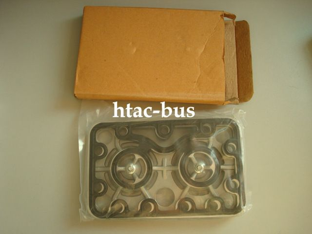 Bus and truck air conditioning system Konvecta valve plate with gaskets