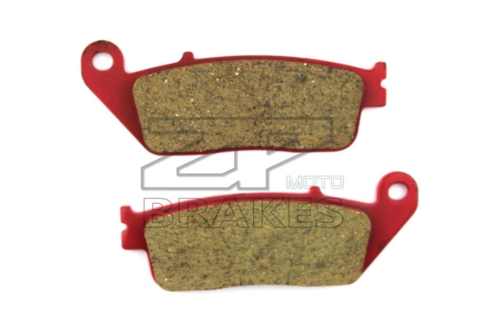 Motorcycle Accessories Brake Pads For KYMCO 300 Street Downtown 2010-2011 Front OEM Red Ceramic Composite Free shipping