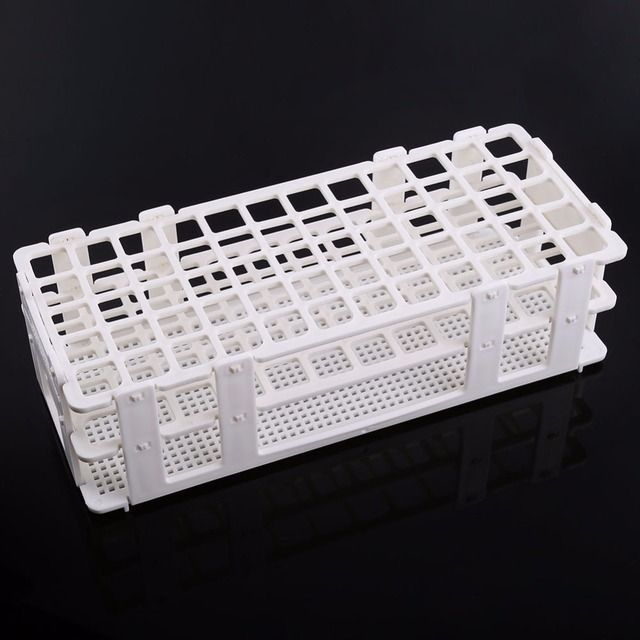 Test Tube Stand Plastic Test Tube Rack 60 Holes Holder Storage Stand Lab 3 Layers 16mm Hole Test-Tube Rack